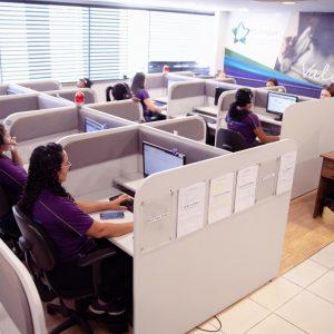 Central de equipe telefonista atendimento Funerária Metropax - Funerária Belo Horizonte e região metropolitana