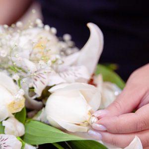Detalhe flores cerimonial Funerária Metropax - Funerária Belo Horizonte e região metropolitana